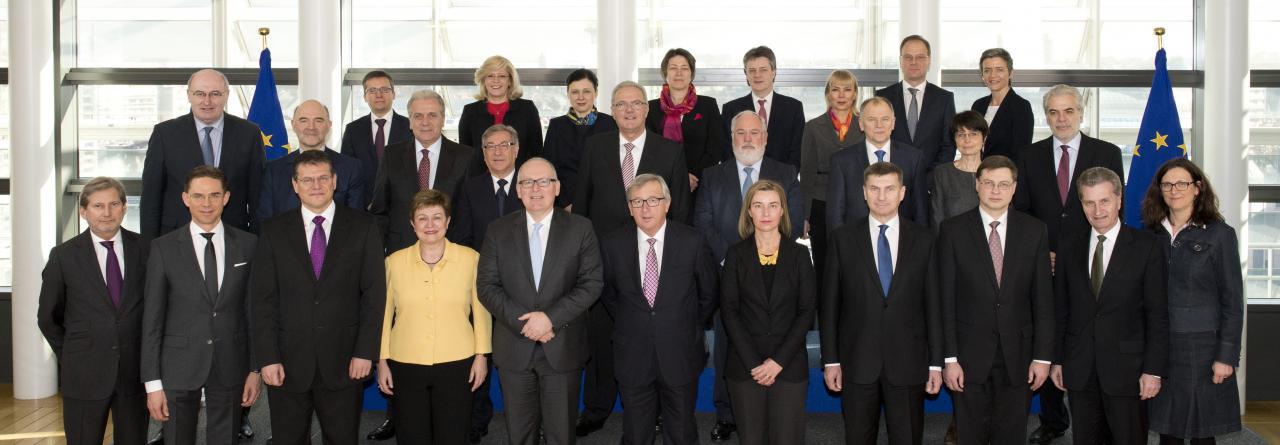 Resultado de imagen para Fotos de Los comisarios de la UE