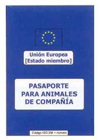 Pasaporte animales compañia