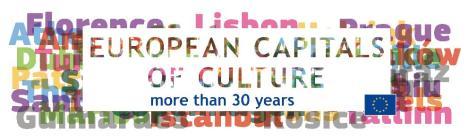 capitales europeas de la cultura mas de 30 años